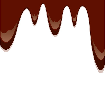melted: melted chocolate drips