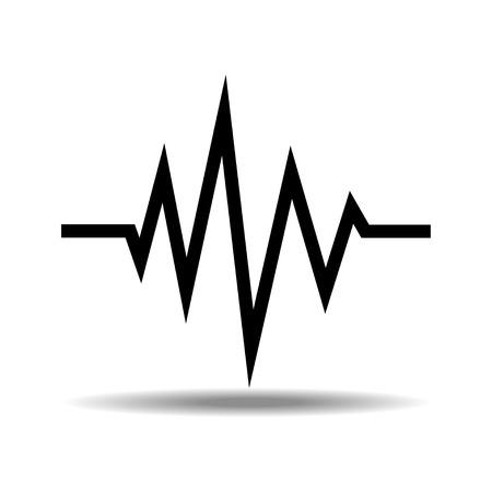 sound waves oscillating