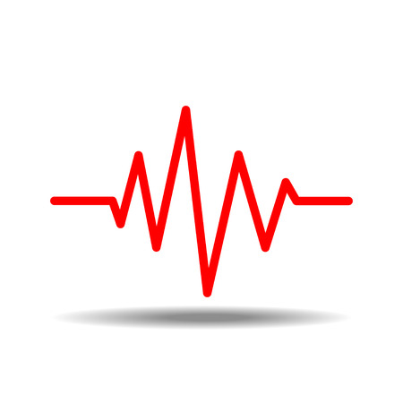 waves: sound waves oscillating