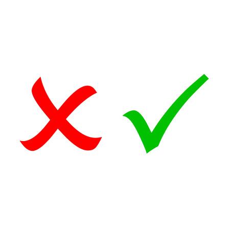 cruz roja: Marque y cruzar