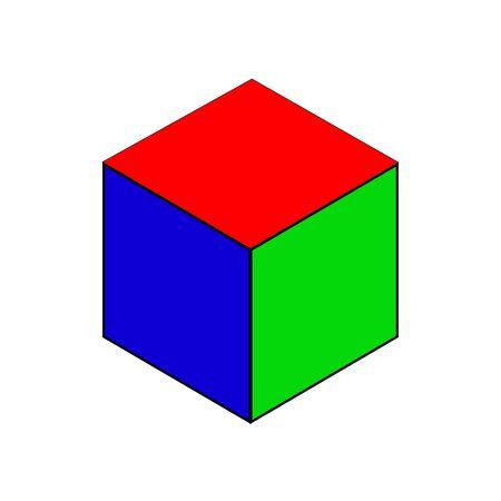 cube: cube Illustration