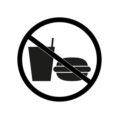 geen eten of drinken