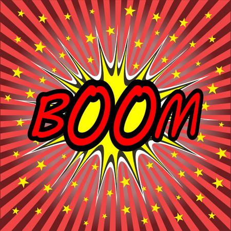 boom comic speech bubble