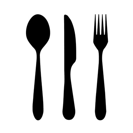 fork: fork spoon knife