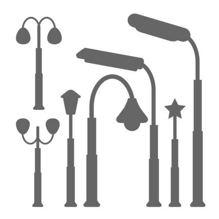 Lamp Post Street Vector