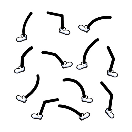 cartoon legs