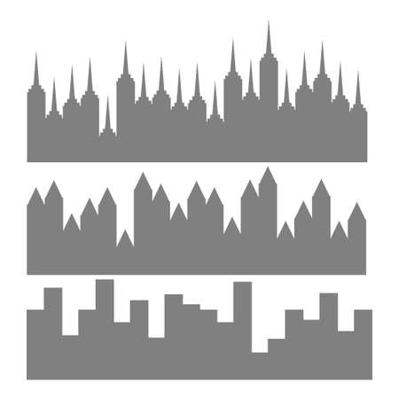 midtown: building silhouettes