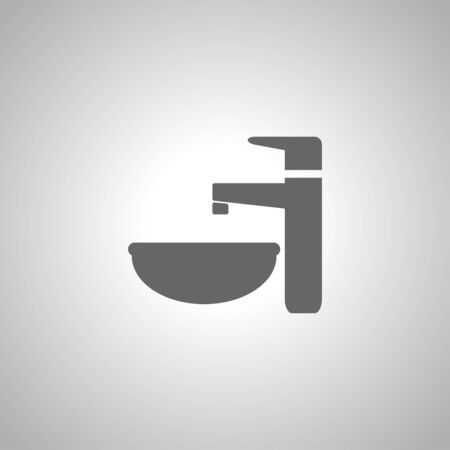sink: faucet and sink