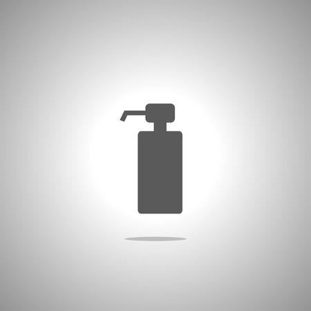 liquid: gel foam or liquid pump plastic bottle