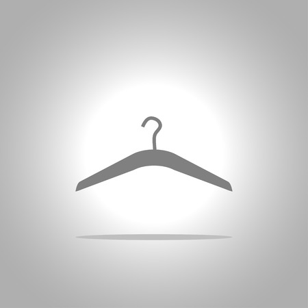 shirts on hangers: Hanger icon