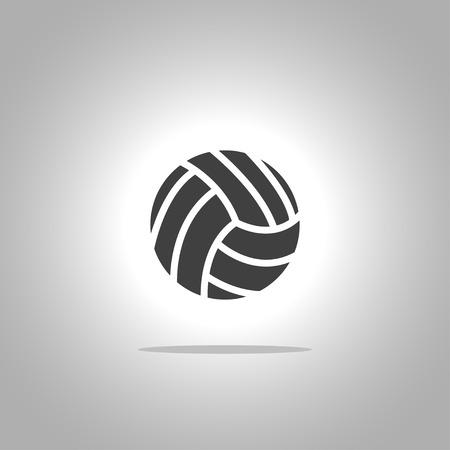 Volley bal  Stock Illustratie