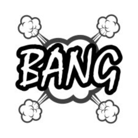 bang: bang comic Illustration