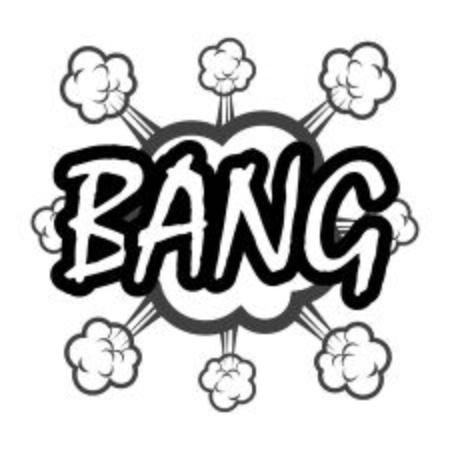 bang: bang comic Illustration