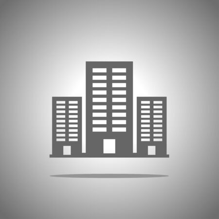 office icon: building icon Illustration