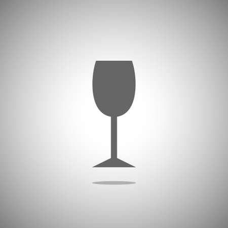 champagne cups: Drinking glass icon