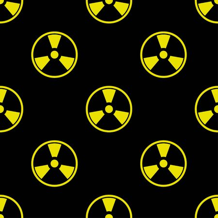 seamless pattern with Nuclear