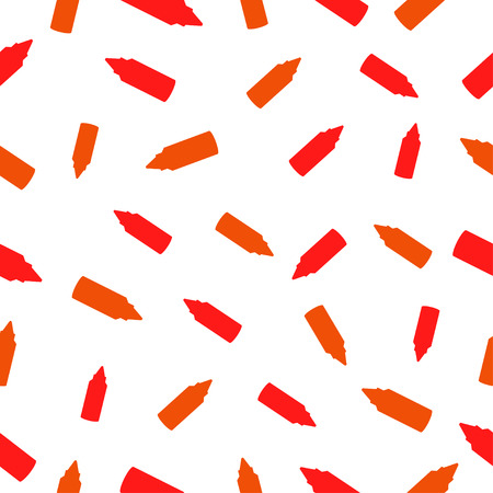 chili sauce: seamless pattern with Bottles of ketchup and chili sauce Illustration