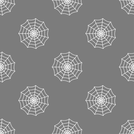 spinnennetz: nahtlose Muster mit Spinnennetz Illustration
