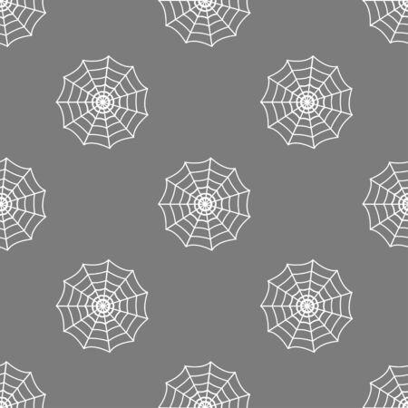 cobweb: seamless pattern with cobweb Illustration