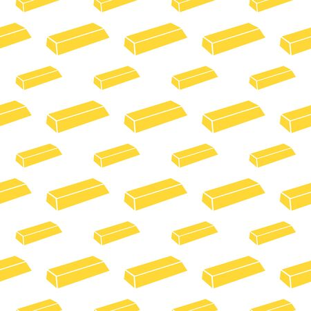 gold bar: seamless pattern with gold bar