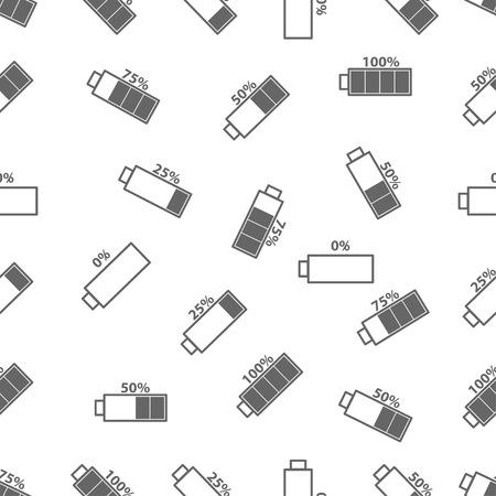 seamless pattern: seamless pattern with battery