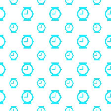 seamless pattern: seamless pattern with clock