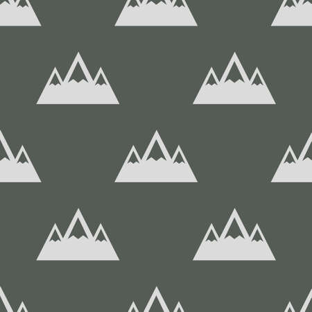 fabric patterns: seamless pattern with Mountain