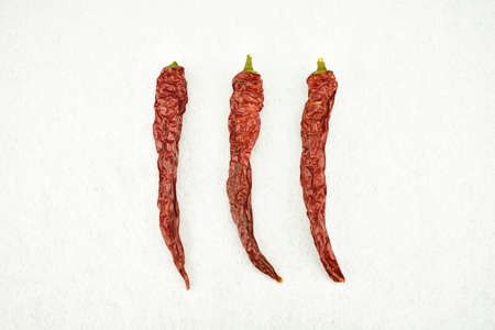 spices - dried red hot chili chilies pepper
