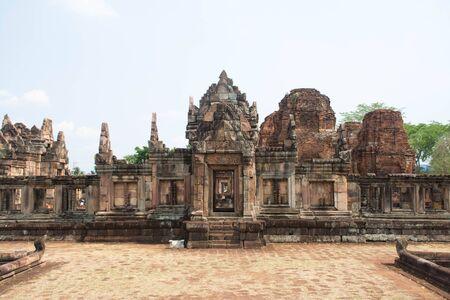 tam: Khmer archaeological site of Prasat Muang Tam in Buriram Province,Thailand