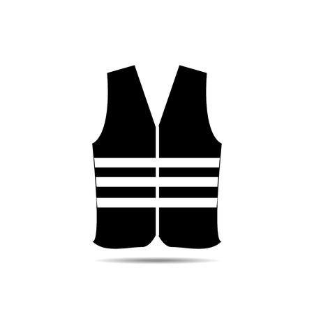 safety vest: safety vest icon