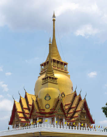 chachoengsao: Wat Prong Arkad temple in Chachoengsao province,Thailand