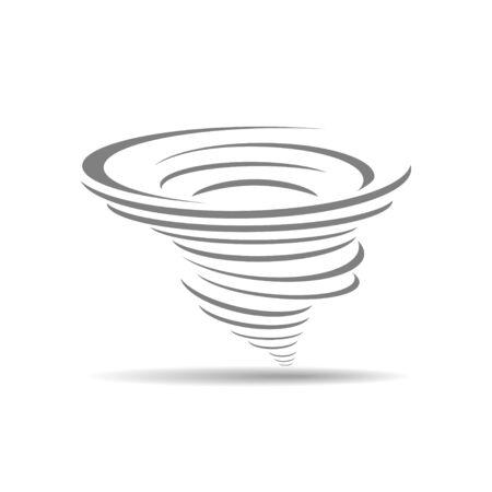 hurricane disaster: cyclone icon