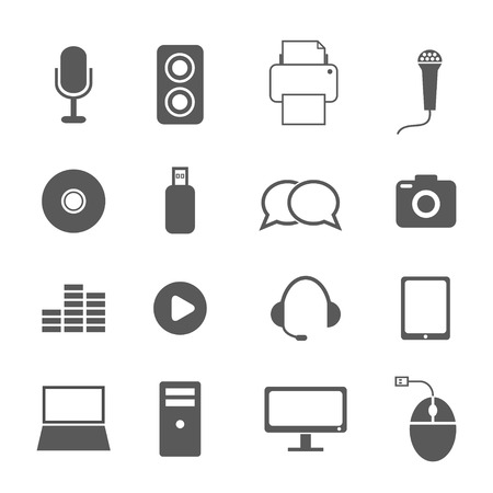 tv tower: communication icons