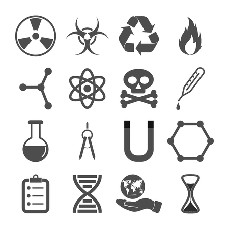 icons: science icons