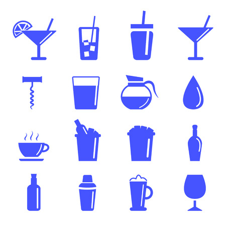 champagne cups: drinking icon