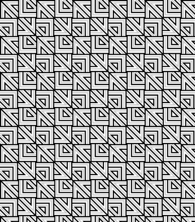 pattern. Modern stylish texture. Repeating geometric triangular tiles  イラスト・ベクター素材