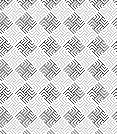 modular rhythm: Modern stylish texture. Repeating geometric rounded square tiles Illustration
