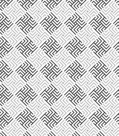 modular rhythm: Modern stylish texture. Repeating geometric rounded square tiles Illustration