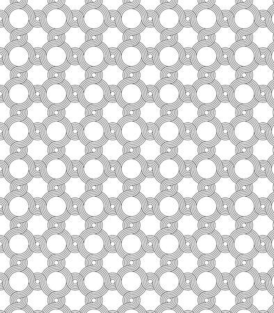 monochromatique motif de cercle conception abstraite de fond