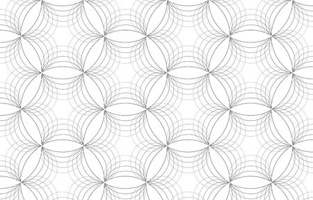 Vector geometric pattern. Abstract stylish background with texture of abstract leaves or flower. Floral organic background. pattern is on swatches panel