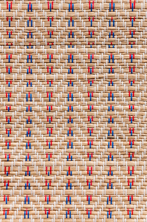 craft product: native Thai style mat texture, traditional craft product