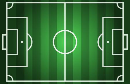 soccer field: Soccer field. illustration eps 10