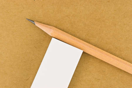 writing stationary on recycle paper board