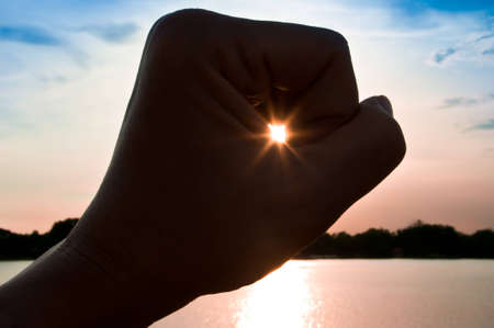 hold the sun in hand