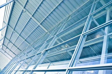 charpente m�tallique: l'architecture des b�timents modernes Banque d'images