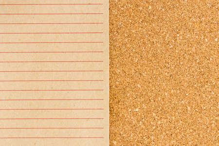 recycle notepad on cork board