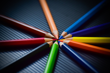 Multi-color of pastel