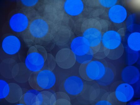 Blue color bokeh Stock Photo - 17352555