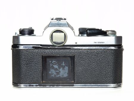 Single lends reflex film camera back Stock Photo - 18033688