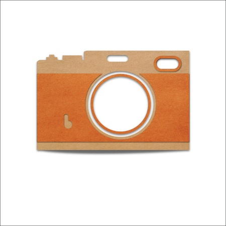 Range finder a retro style camera Stock Photo - 19164675